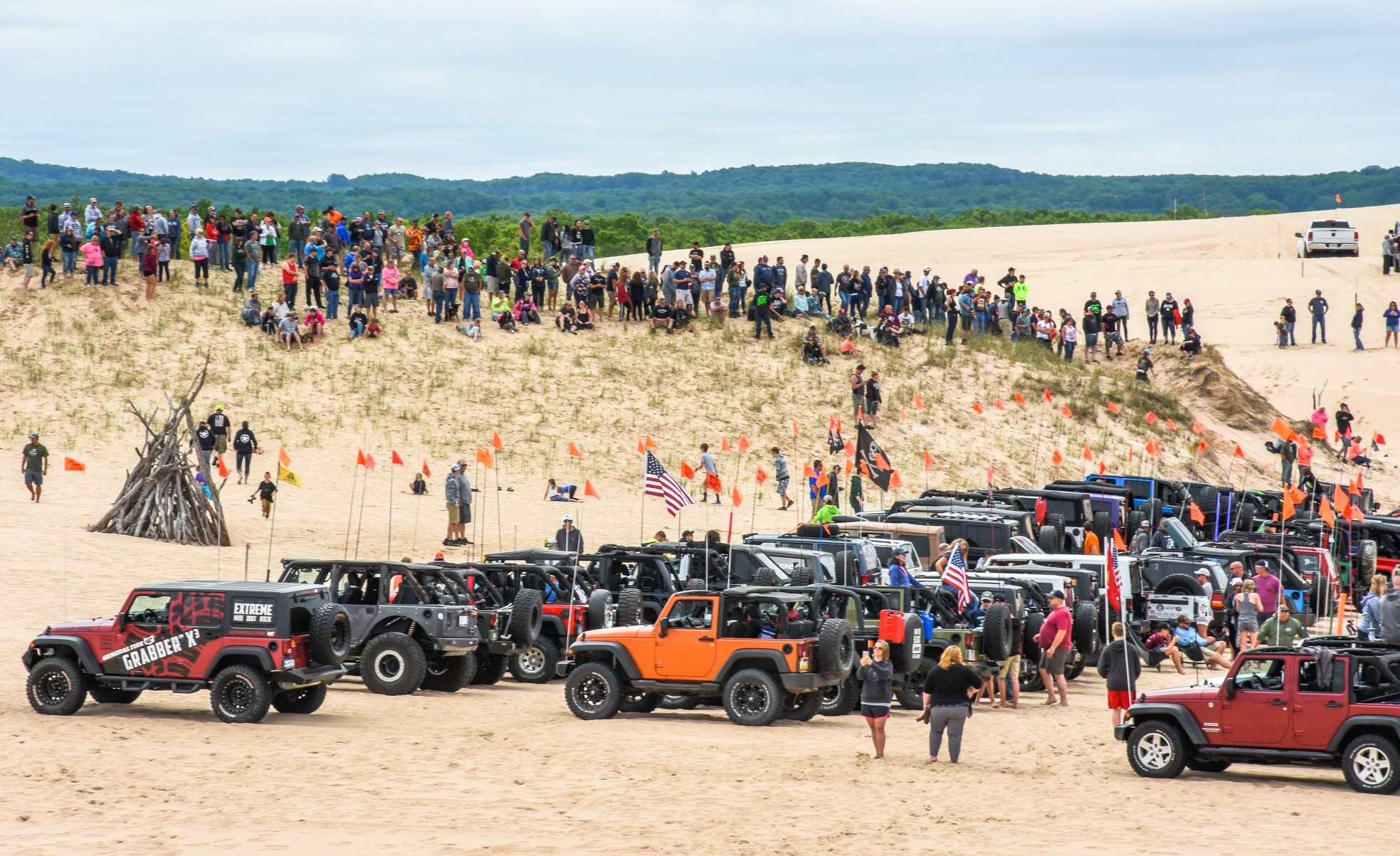 Schedule Of Events Silver Lake Sand Dunes Jeep Invasion